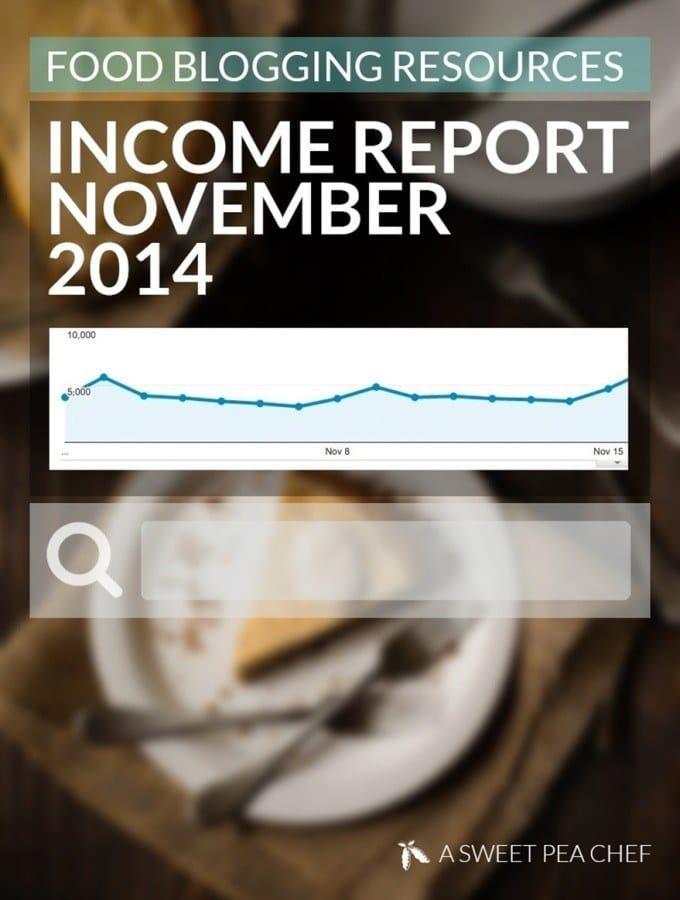 ASPC November 2014 Income Report