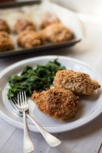 Panko Baked Chicken Thighs A Sweet Pea Chef