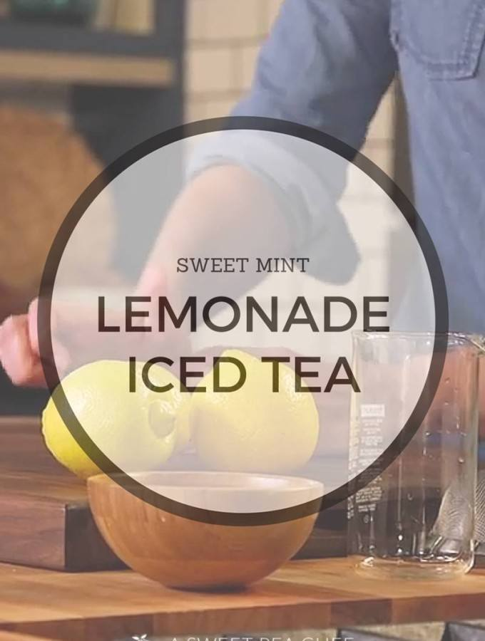 Sweet Mint Lemonade Iced Tea