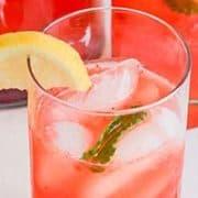 Strawberry Mint Lemonade | Naturally Sweet