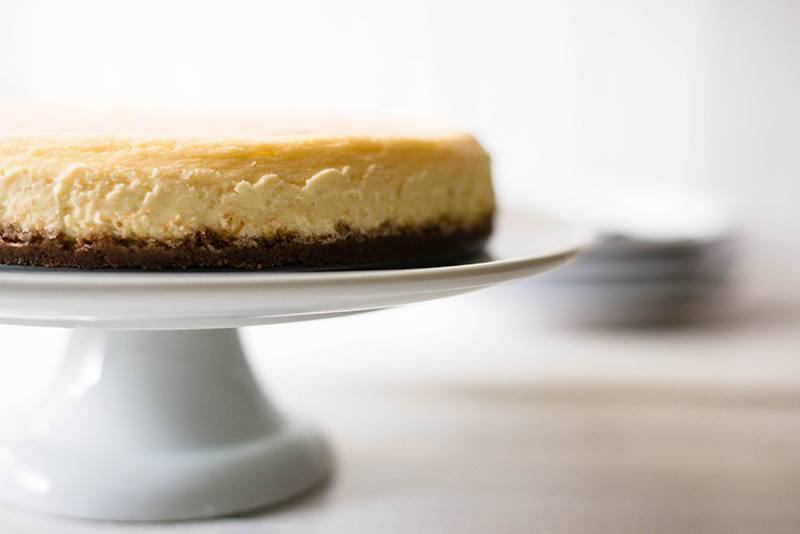 Simple Cheesecake Recipe - Ready For Topping