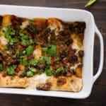 Skinny Beef Enchilada
