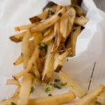 Homemade Garlic Fries Square Recipe Preview Image