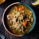 Lemon Chicken Orzo Soup Square Recipe Preview Image