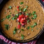 Queso Dip With Ground Beef Square Recipe Preview Image