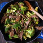 Healthy Beef and Broccoli Square Recipe Preview Image