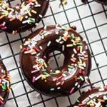 Chocolate Doughnuts Square Recipe Preview Image