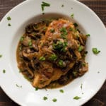 Easy Chicken Marsala Square Recipe Preview Image