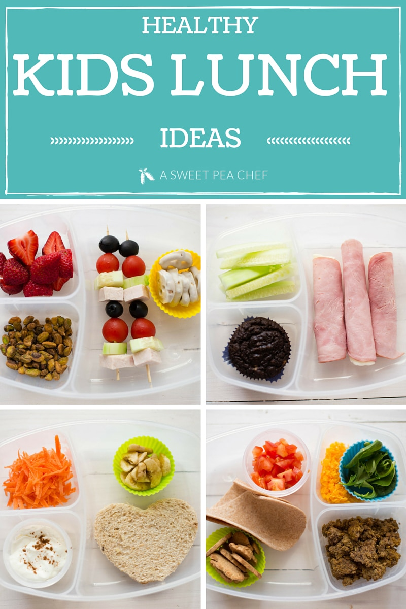 Healthy Kids Lunch Ideas | A Sweet Pea Chef