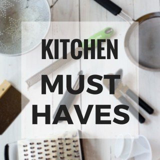 ASPC's Kitchen Must Haves
