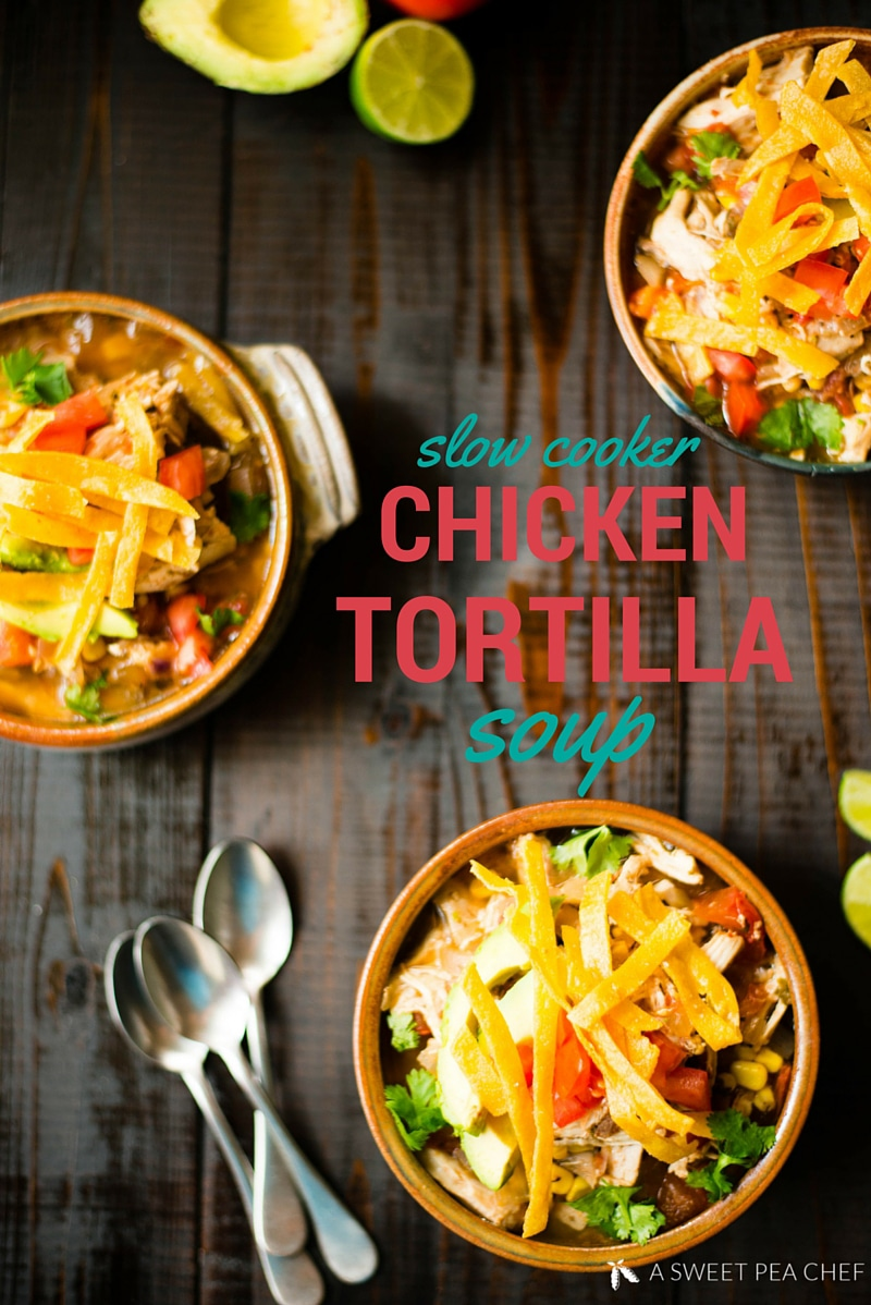 My 20 Favorite Cinco De Mayo Recipes - Chicken Tortilla Soup