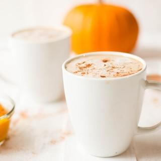 Homemade Healthy Pumpkin Spice Latte Recipe