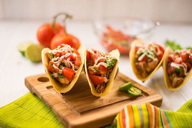 Chicken Tacos | Amazing, easy, and delicious chicken tacos. www.asweetpeachef.com