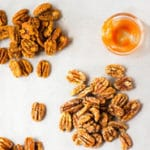 Candied Pecans Three Ways Square Recipe Preview Image