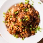 Slow Cooker Cashew Chicken | Better than takeout and way healthier for you, too! www.asweetpeachef.com