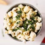 Parmesan & Sea Salt Popcorn Square Recipe Preview Image