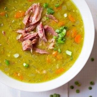 Slow Cooker Split Pea Soup | Easy, protein-packed, and delicious! www.asweetpeachef.com