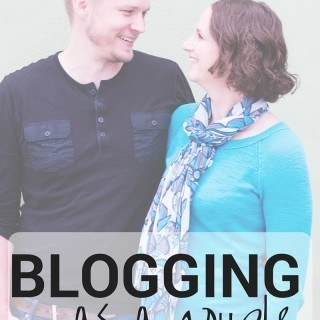 Blogging as a Couple | What it's like to blog as a couple on an online business | asweetpeachef.com