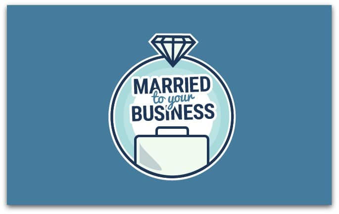 Married to your business logo