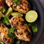 Cilantro Lime Chicken | Quick, delicious, 7 ingredients, and Healthy! | asweetpeachef.com