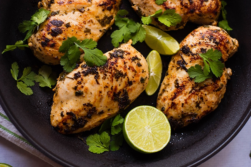 Cilantro Lime Chicken | Quick, delicious, 7 ingredients, and Healthy ...
