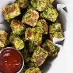 Clean Broccoli Tots | Healthy, clean, and delicious broccoli tots! asweetpeachef.com