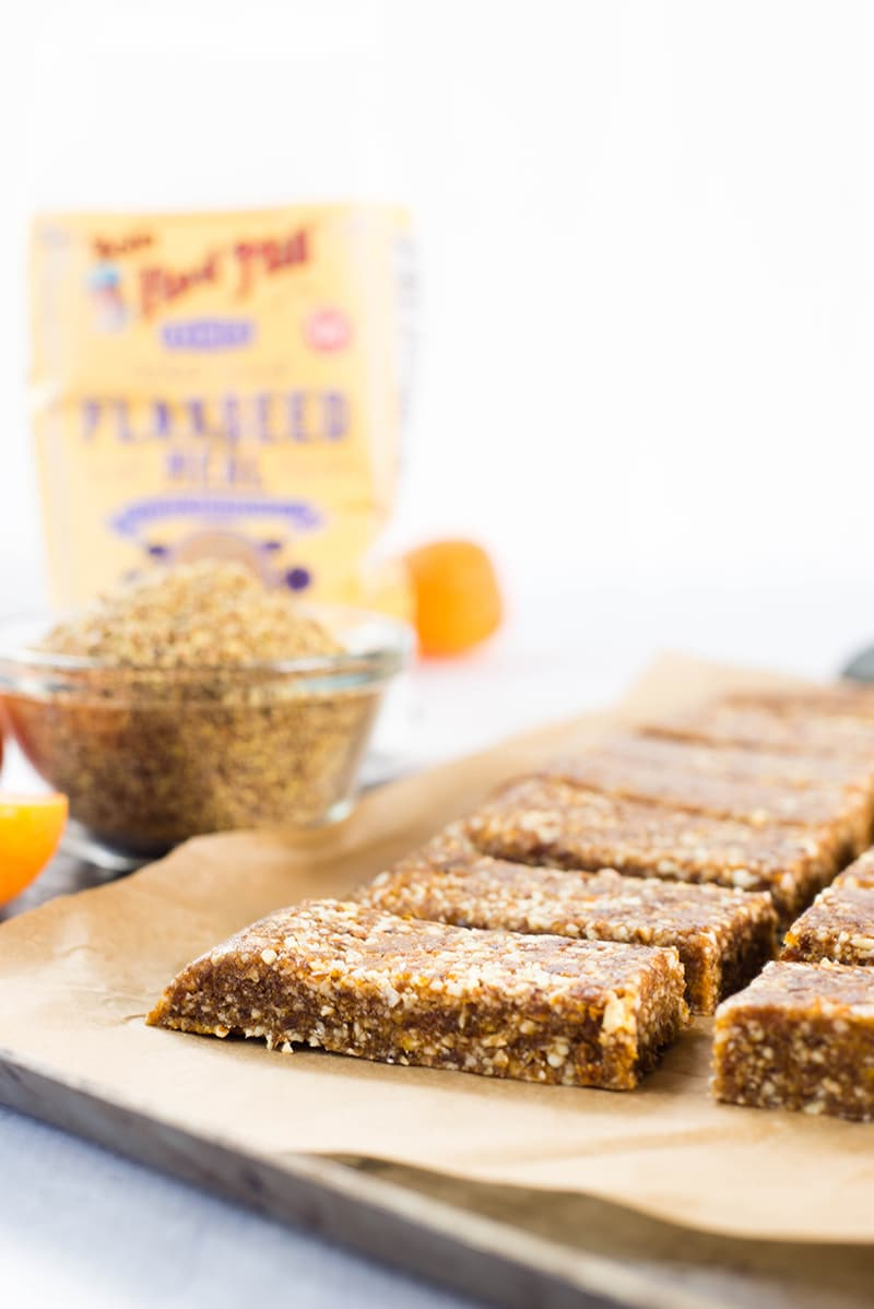 Apricot, Almond & Flaxseed Homemade Energy Bars | Healthy and tasty homemade energy bars to get you through! | A Sweet Pea Chef