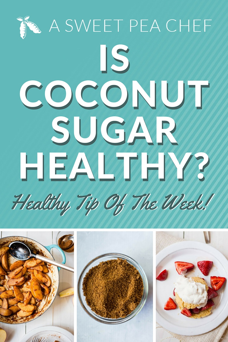 Is Coconut Sugar Healthy? Why coconut sugar is a good sugar substitute and how to use it.   A Sweet Pea Chef