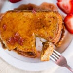 Strawberry French Toast Square Recipe Preview Image