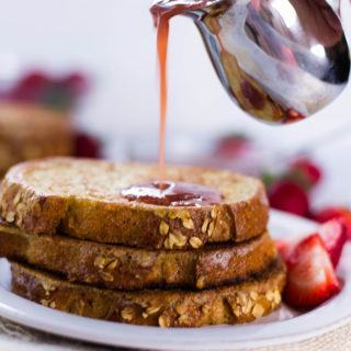 Strawberry French Toast (That's Actually Clean!) | This is what's for breakfast tomorrow! | A Sweet Pea Chef