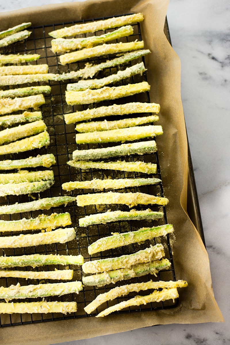 Baked Zucchini Fries | A healthy and fun new way to eat your veggies | A Sweet Pea Chef