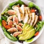 End Of Summer Salad With Fig Balsamic Vinaigrette Square Recipe Preview Image