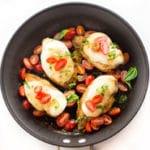 One Pan Chicken Bruschetta - Square Recipe Preview Image