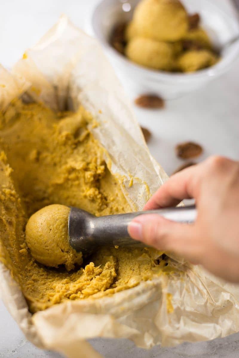 Fresh Pumpkin Ice Cream | Smooth, creamy, sweet, vegan, and clean ...