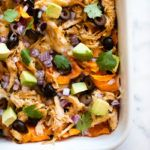 Sweet Potato Nachos   These are some serious nachos, peeps. So much flavor. So many textures and without any processed, over-salted chips. SO GOOD!   A Sweet Pea Chef