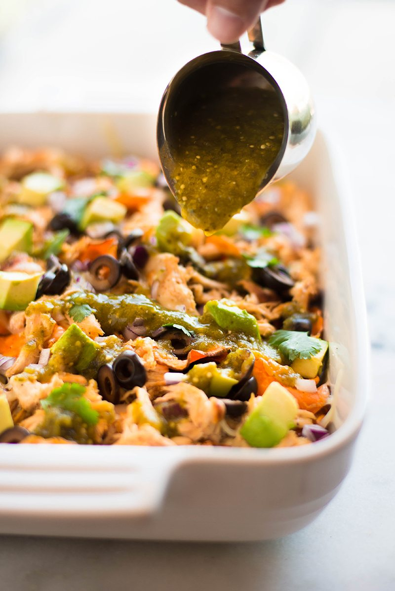 Sweet Potato Nachos | These are some serious nachos, peeps. So much flavor. So many textures and without any processed, over-salted chips. SO GOOD! | A Sweet Pea Chef