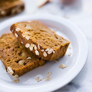 Apple Pumpkin Bread | The best of fall flavors in an easy, delicious, and fresh bread. | A Sweet Pea Chef