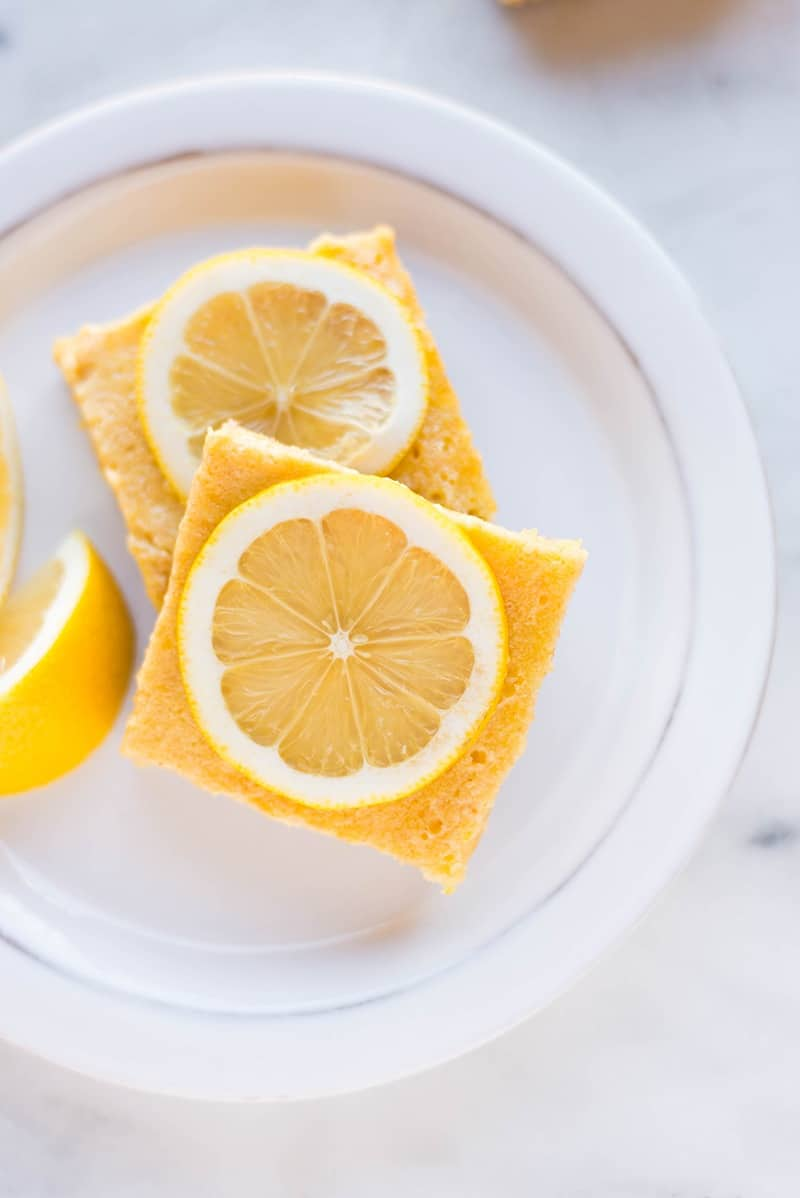 Best Lemon Bars | These lemon bars are so great that you'd never know they're healthy! | A Sweet Pea Chef #ad