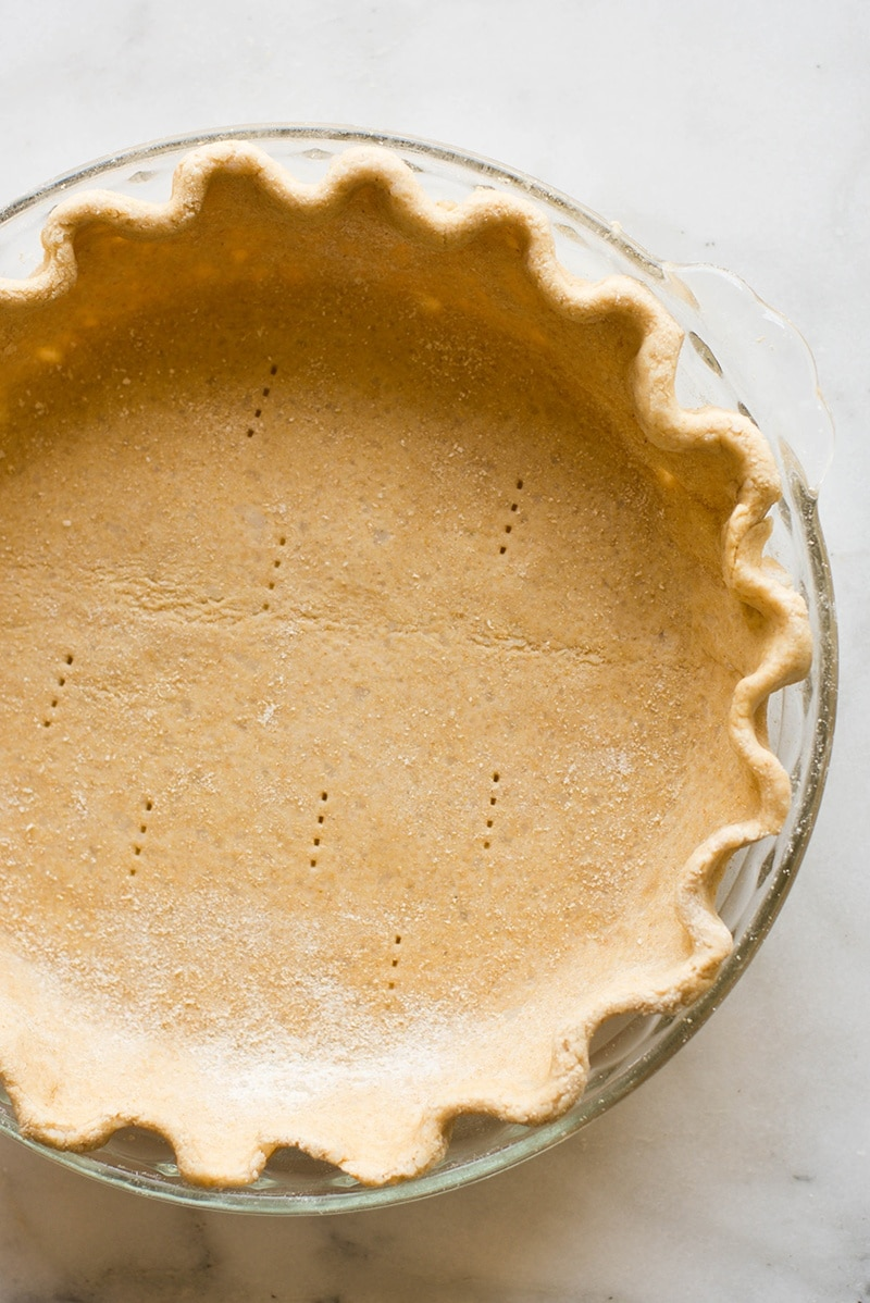 Butterless & Flaky Pie Crust | A clean, easy, and delicious flaky pie crust. | A Sweet Pea Chef