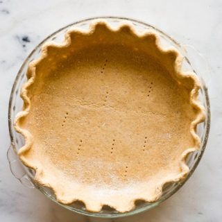 Butterless Flaky Pie Crust