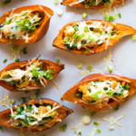 Healthy Baked Sweet Potato Skins - Square Recipe Preview Image