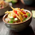 Slow Cooker Chicken Tortilla Soup - Square Recipe Preview Image