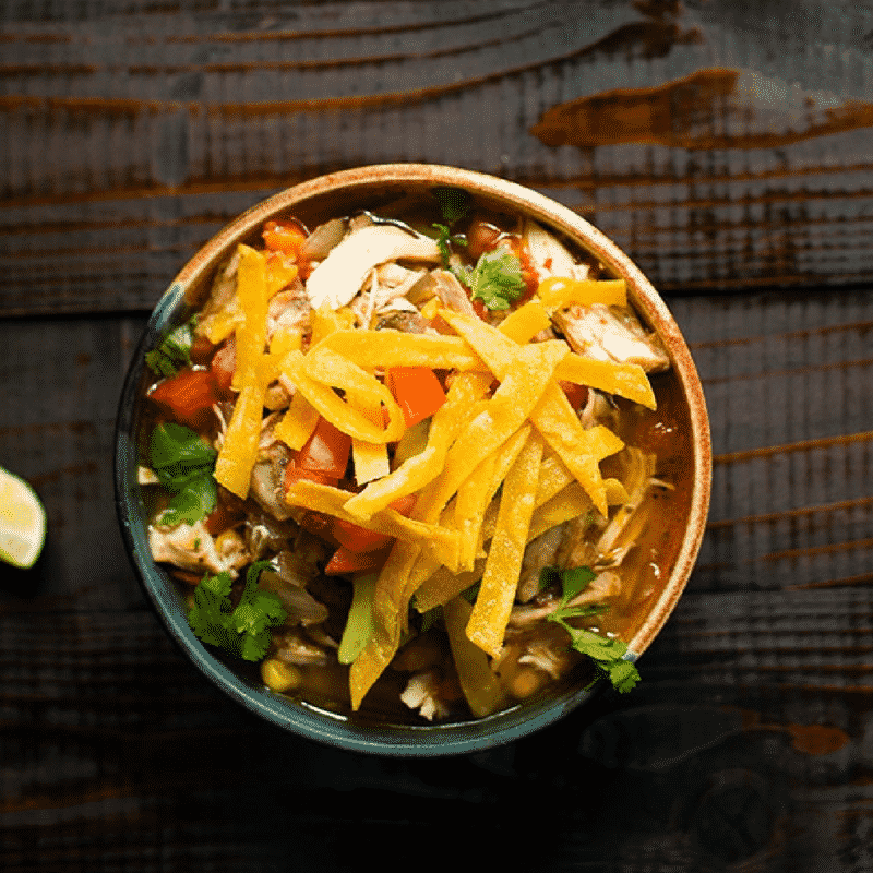 Slow Cooker Chicken Tortilla Soup A Sweet Pea Chef