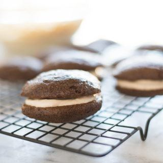 Gingerbread Whoopie Pies That Are Dairy-Free!