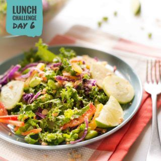 Chopped Thai Salad with Peanut Dressing