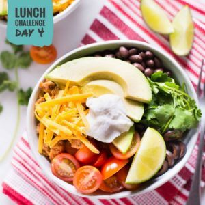 Turkey Taco Lunch Bowl
