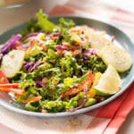 Chopped Thai Salad with Peanut Dressing - Square Recipe Preview Image