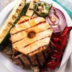 Grilled Hawaiian Turkey Teriyaki Bowl - Square Recipe Preview Image