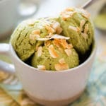 Matcha Frozen Yogurt - Square Recipe Preview Image