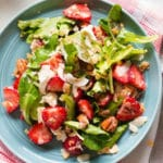 Strawberry Fields Salad with Chia Seed Vinaigrette - Square Recipe Preview Image